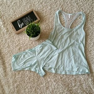 Bridal tank and panty set